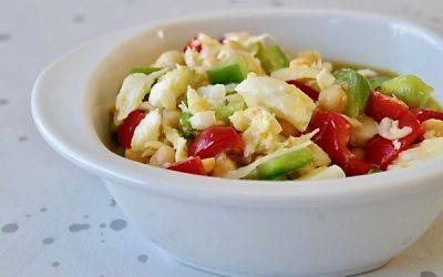 Portuguese Bacalhau Salad