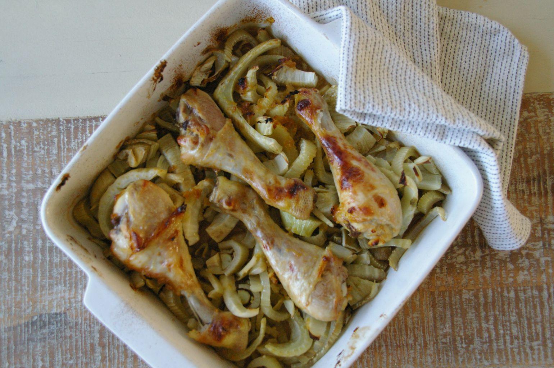 Chicken fennel
