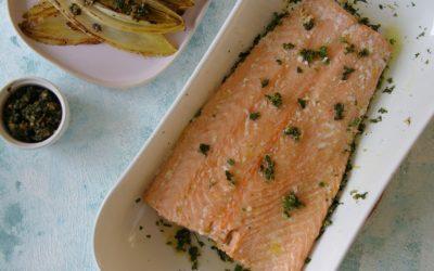 Slow Baked Salmon