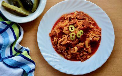 Classic Hungarian Lecsó – Paprika Stew
