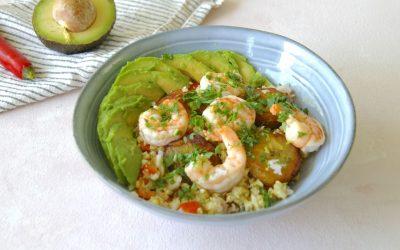 Shrimp Cauliflower Rice