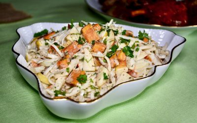 Celery Root, Sweet Potato and Apple Salad