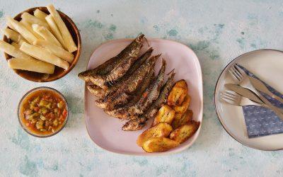 Fried Sardines with Krioyo Sauce