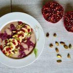 Pomegranate Banana Breakfast Bowl