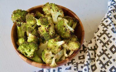 The Best Lemon Roasted Broccoli