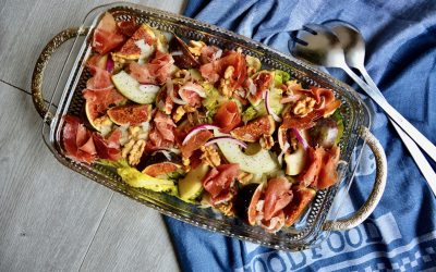 Autumn Salad with Fig and Pear