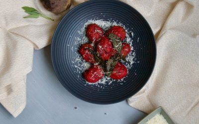 Beetroot Gnocchi with Brown Butter Sage