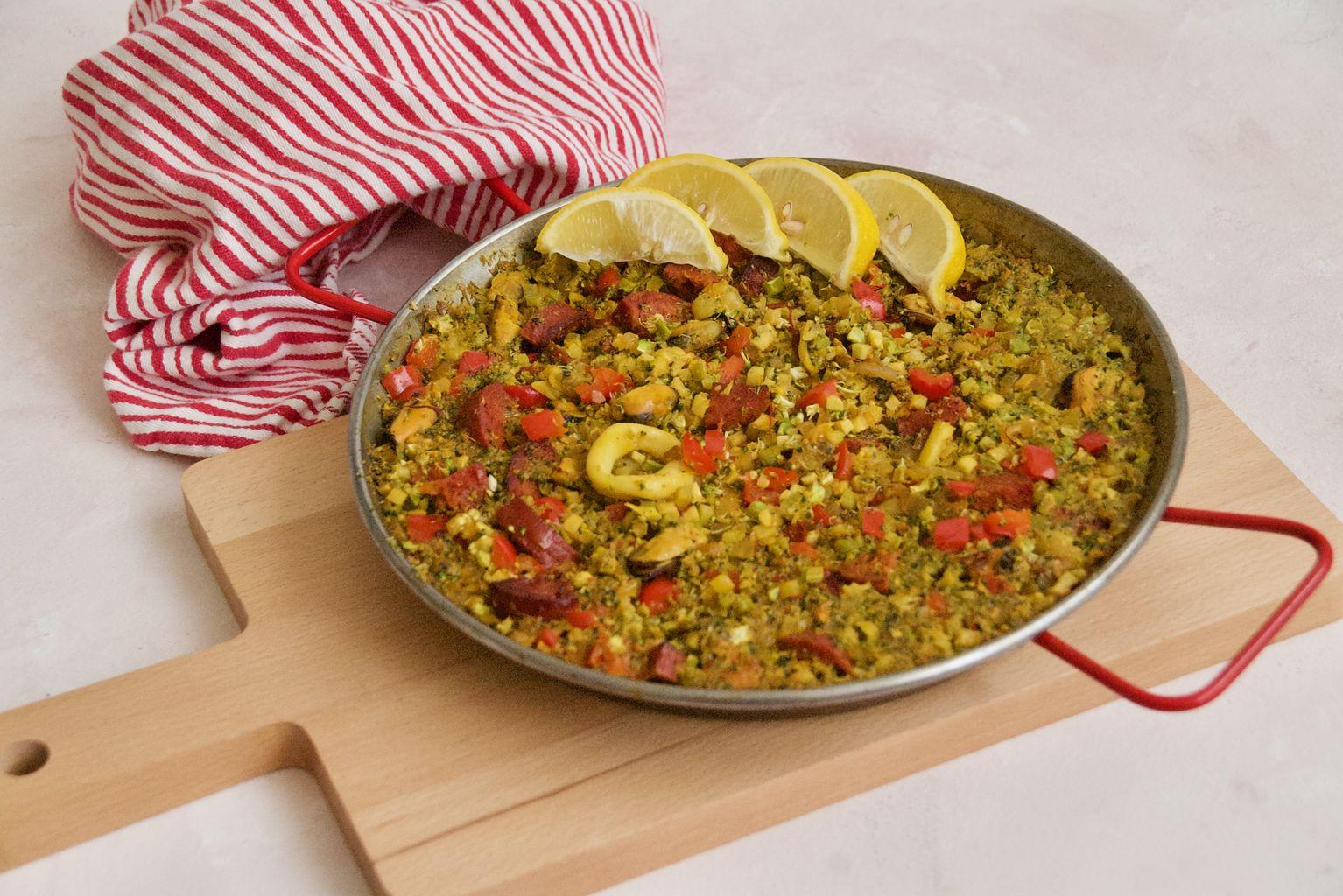 Broccoli Rice Paella