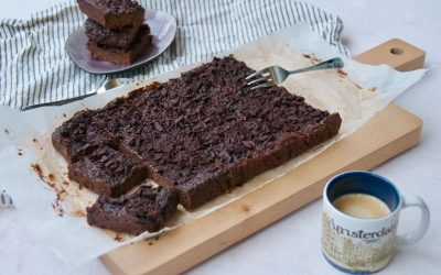 Double Chocolate Hazelnut Brownie