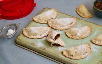 Paleo Apple and Quince Pockets