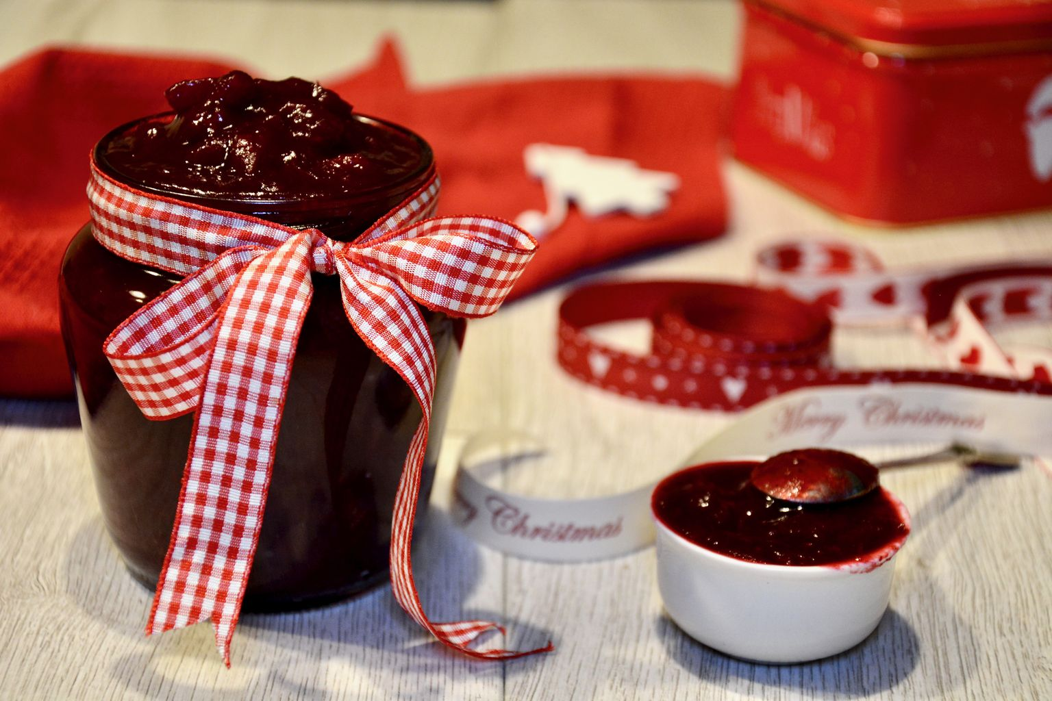 Cranberry Sauce with Port and Orange