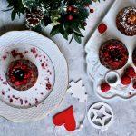 Jam Filled Mini Bundt Cakes