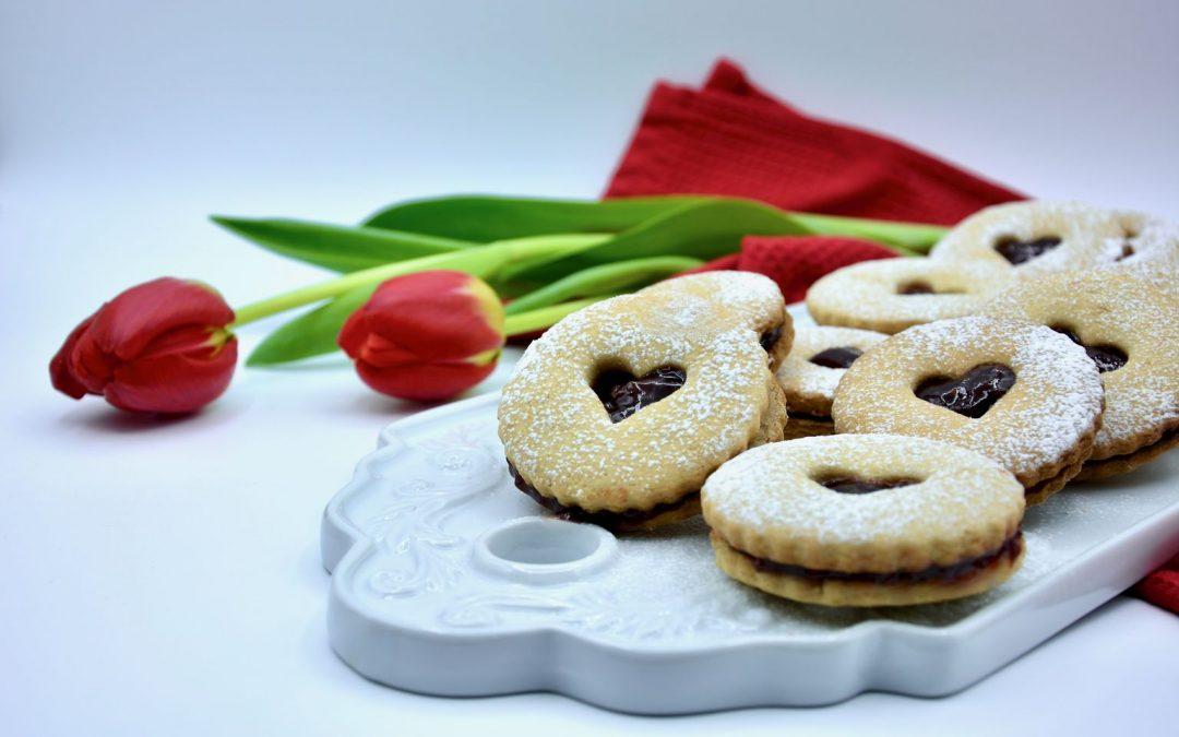 Paleo Linzer Cookies